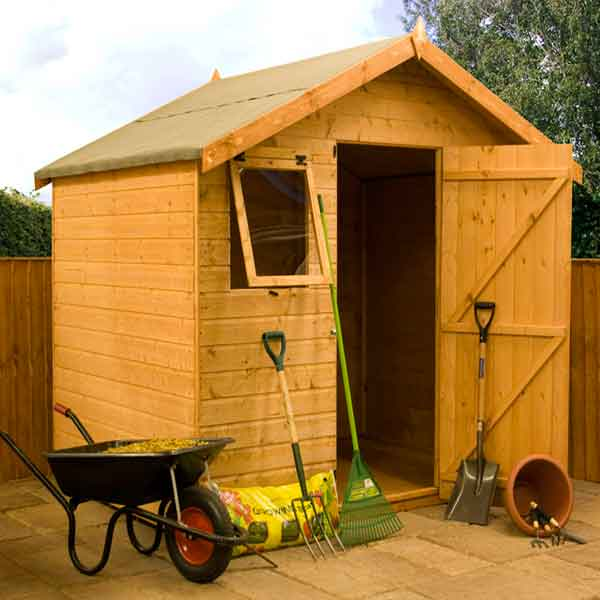 Great Value Sheds, Summerhouses, Log Cabins, Playhouses, Wooden Garden Sheds,  Metal Storage Sheds Fencing U0026 More From Direct Garden Buildings 8 X 6  Shiplap ...